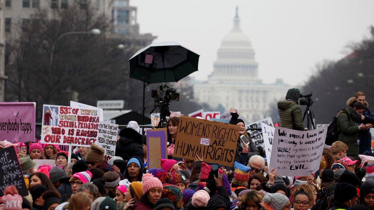 des marches organis u00e9es en appui aux droits des femmes  u00e0
