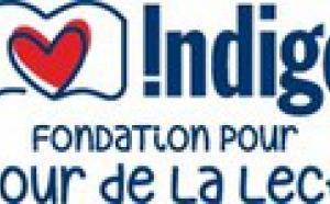 Fondation Indigo pour l'amour de la lecture.
