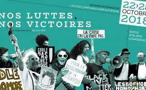 Bannière de la Semaine nationale de l'action communautaire autonome 2018