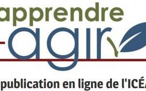 Apprendre + agir. La publication en ligne de l'ICÉA.