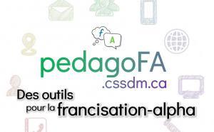 PédagoFA : des outils pour la francisation-alpha