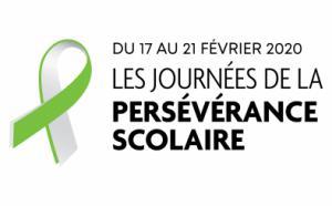 Logo des JPS. Du 17 au 21 février 2020, Les Journées de la persévérance scolaire.