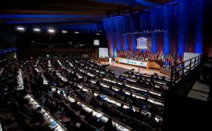 Vue d'ensemble de la 40e Conférence générale de l'UNESCO.