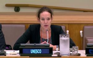 Photographie de Margarete Sachs-Israel, Coordinatrice en chef des programmes de l'Institut de l'UNESCO pour l'apprentissage tout au long de la vie