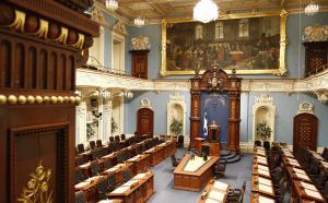 salle de l'assemblée nationale du Québec