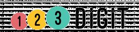 Logo de 123 Digit.