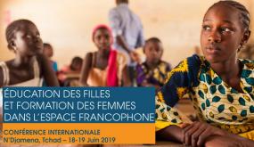 Éducation des filles et formation des femmes dans l'espace francophone.