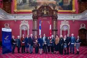 Photographie des lauréates.