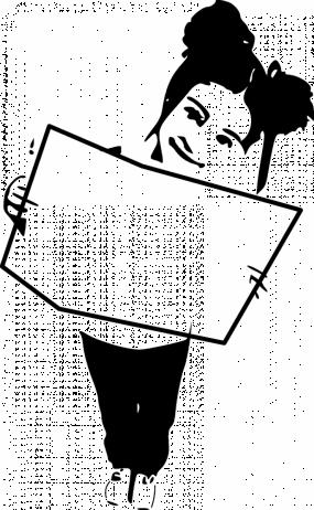 Illustration d'un enfant qui tient un livre ouvert.
