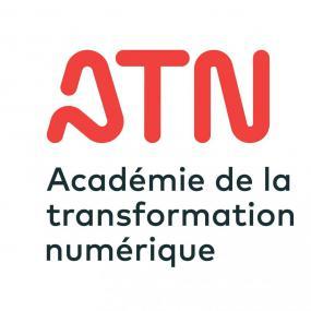Logo de l'Académie de la transformation numérique (ATN) .