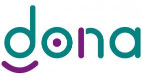 Logo de la plateforme DONA.