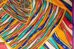 Un motif coloré.