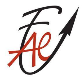Logo de la FAE.