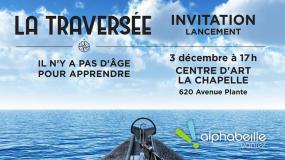 carton d'invitation du lancement