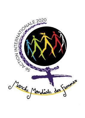 Logo de la Marche mondiale des femmes 2020.