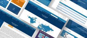 Illustration de différentes captures d'écran du portail.