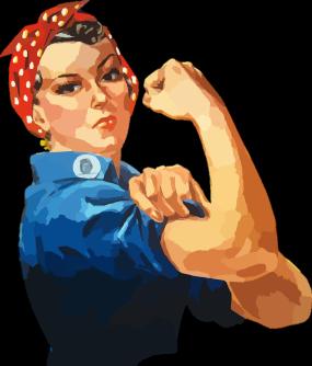 Illustration de Rosie, la riveteuse.