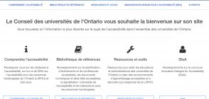 Site «Accessible Campus»