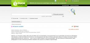 Site «Sélection thématique Inclusion scolaire. Réseau Canopé»