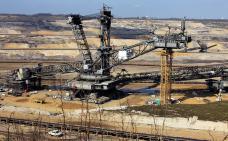 Photographie d'une exploitation de mine à ciel ouvert.