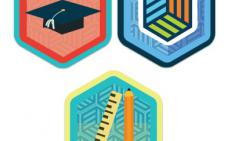 Illustration de badges ouverts.