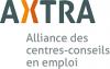 Logo de AXTRA.