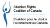 Logo du Coalition pour le droit à l'avortement au Canada (CDAC).