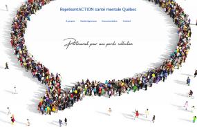 Capture d'écran du site Web.