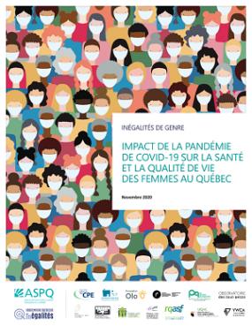 Page couverture du rapport.