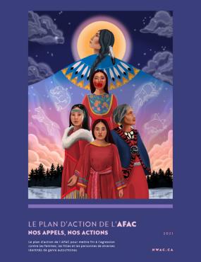 Page couverture du plan d'action d'AFAC.