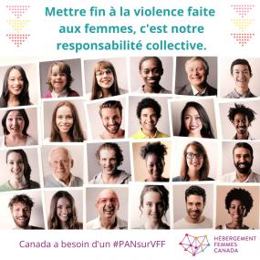 Affiche de la campagne Pour un Plan d'action national.