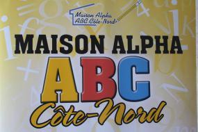Logo de Maison alpha ABC Côte-Nord.