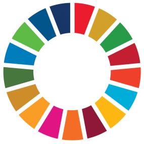 Logo des Objectifs de développement durable (ODD).