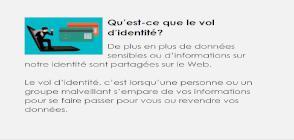 miniature carte Vol de données ou d'identité