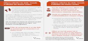 miniature fiche Défense collective de droits - Conseils d'utilisation des réseaux sociaux