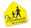 Logo de Maman va à l'école.