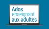 Logo d'Ados enseignant aux adultes.