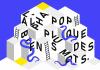Illustration d'un hybride d'une structure modulaire et du jeu de serpent et échelle.