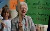 Photographie de Léa Roback lors d'une manifestation pro-choix.