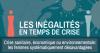 Les inégalités en temps de crise. Crise sanitaire, économique ou environnementale : les femmes systématiquement désavantagées.