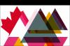 Logo du groupe de travail : des triangles multicolores superposés avec une feuille d'érable à gauche.