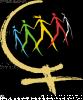 Logo de la Marche mondiale des femmes.