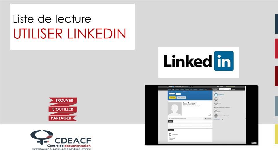 Liste de lecture Utiliser LinkedIn